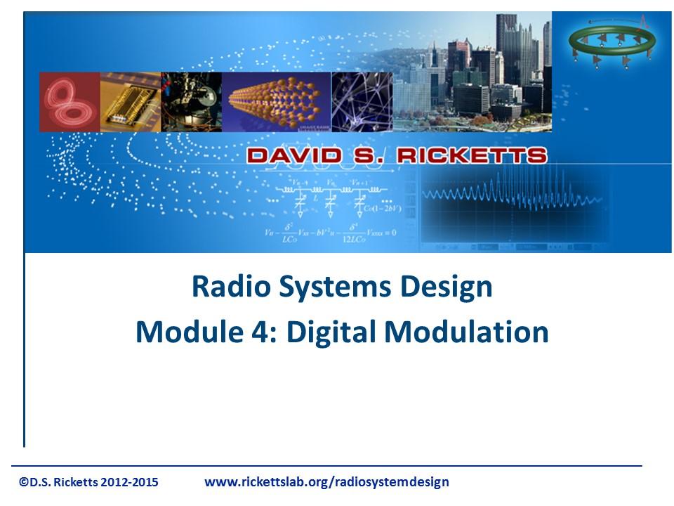 Module 4: Digital Modulation