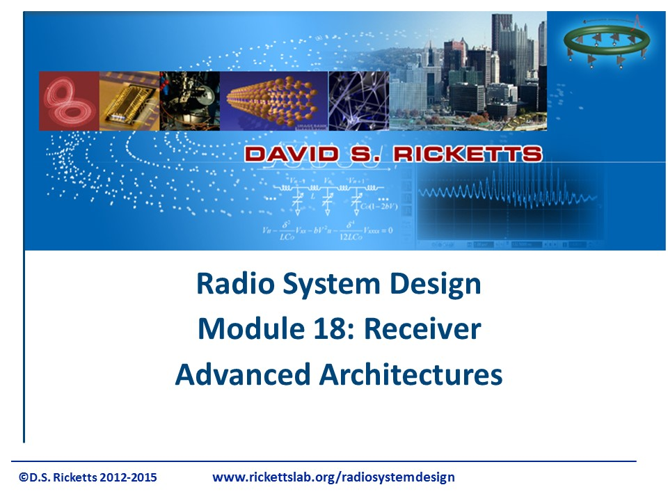Module 18_Receiver Advanced Architectures