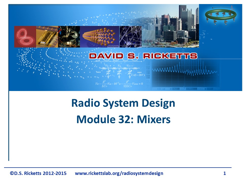 Module 32: Mixers